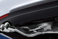 BMW M Performance originale Anlage - umrüstbar auf Dieselsound.at Modul