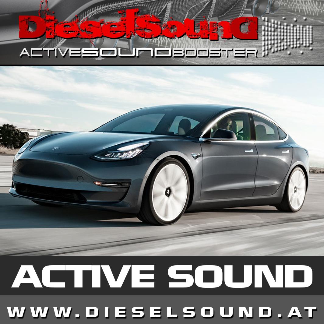 Active Sound Tesla Model 3 Inkl Einbau App Control Dieselsound At Next Level Active Sound